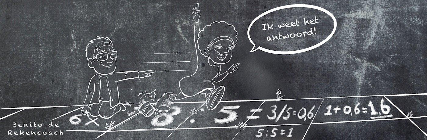 bijles rekenen basisschool leerlingen Benito Kaarsbaan